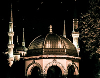 A night breeze of Istanbul