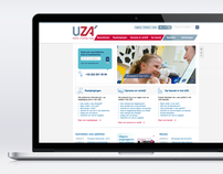 UZA - Patientfriendly website