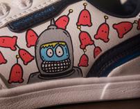 """""""Astronaut"""" Sneakers"""