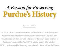 Purdue Alumnus Nov/Dec 2009: Chris Pate
