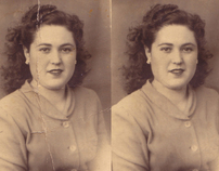 My first step on photographic restoration