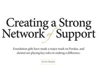 Purdue Alumnus Jul/Aug 2009: Strong Network