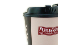 McDonald's New England Newman's Own Coffee Cup