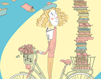 Malta National Book Festival Illustrations 2014