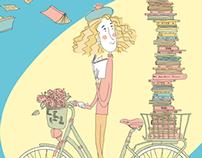 Malta National Book Festival Illustrations 2014