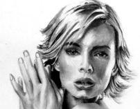 Celebrity Portrait: Jaime Pressly