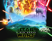 Star Wars Episode 9 mockup poster