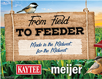 Kaytee & Meijer Promotional Materials