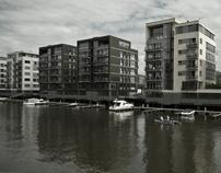 Westhafen Frankfurt - urban views