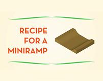 Recipe for a miniramp