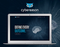 Cybereason - Website Concept Design