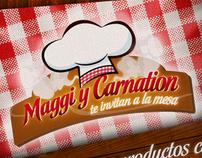Kitchen Maggi and Carnation,