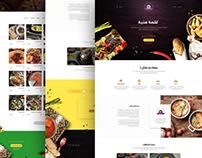 Yalla nakol web design UX/UI