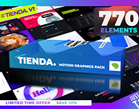 770+ Graphics Pack for After Effects and Premiere Pro