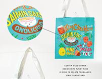 """""""Punny"""" Reusable Bag"""