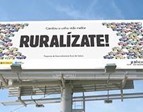 Campaña de comunicación Medio Rural. Xunta de Galicia.