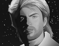 George Michael Digital Painting