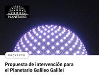 Desarrollo de propuesta de intervención para Planetario