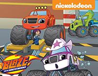 Blaze and the Monster Machines 's Book (@Nickelodeon)