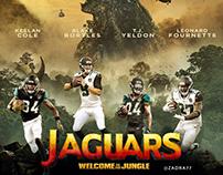 NFL Social Media Artwork - Jacksonville Jaguars