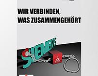 IG Metall Siemens Plakat