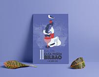 Propuesta cartel II Salón del vino Bilbao, GUÍA PEÑÍN