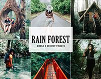 Free Rain Forest Mobile & Desktop Lightroom Presets