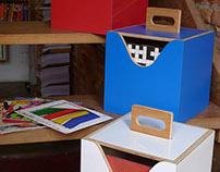 Projeto de produto / Cubos para Compactos Empilhável