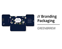 Packaging Design for GREENBRREW