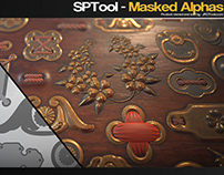 Masking Alphas in Substance Painter - Tutorial