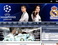 Real Madrid Champions League Theme ( Concept )