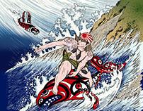 NO WAR! Kamikaze Surfing 特攻隊
