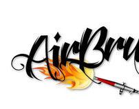 AirBrush Fever Logo Design