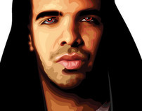 Drake: Illustrated Magazine Spread