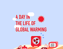 A Day in the Life of Global Warming