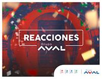 Grupo Aval | Reacciones Aval