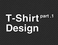 T-shirt design in my work