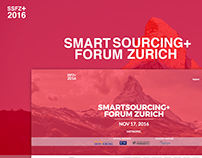 SMARTSOURCING+ FORUM ZURICH 2016 - One Pager Website