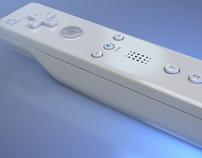 Wii Remote 3D Render