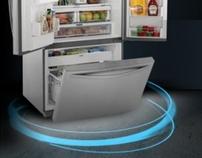 Kenmore Trio Refrigerator