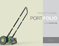 Oliver Sunderland Product Design Portfolio 2016