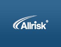 Allrisk.cz redesign concept