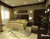 Interior Design-Hotel Room