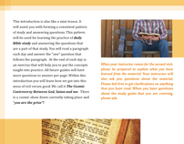 Bible Instructor's Training Program Print Collateral