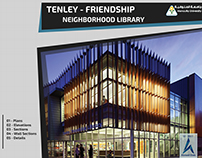 TENLEY - FRIENDSHIP LIBRARY ShopDrawing Project
