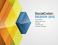 Interactive projects for Social Cubix