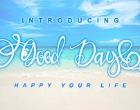 Free Good Day Handwritten Font