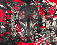 Avengers: Age Of Ultron Official Art Poster print set