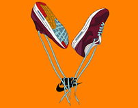 Nike Inspired Illustrations - Advertising Air