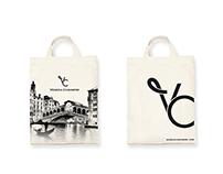 'Venezia Cashmere' logo and branding
